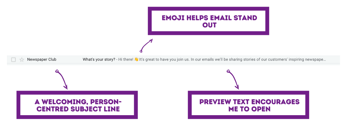 3 welcome email examples email welcome series10