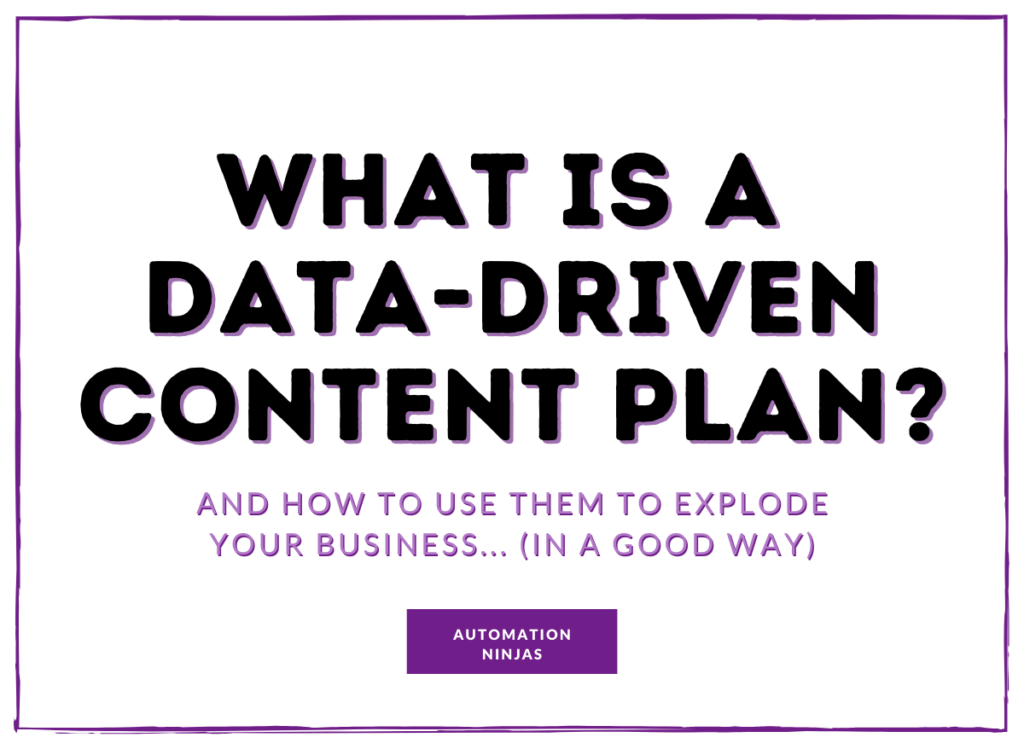 What-is-a-data-driven-content-plan